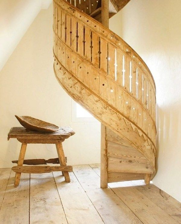 Best Antique Belgium Spiral Staircase Leads To Attic How To 640 x 480