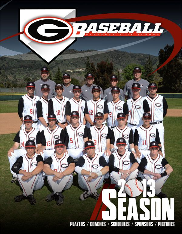 A Funbook For The Glendora High School Baseball Team Portraits For Kids High School Baseball Sports Pictures