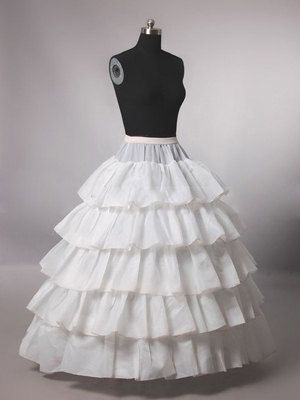 Wedding Accessories Cheap Wedding Formal Dress Pannier Yarn 3 Wire 1 Hard Network Petticoat