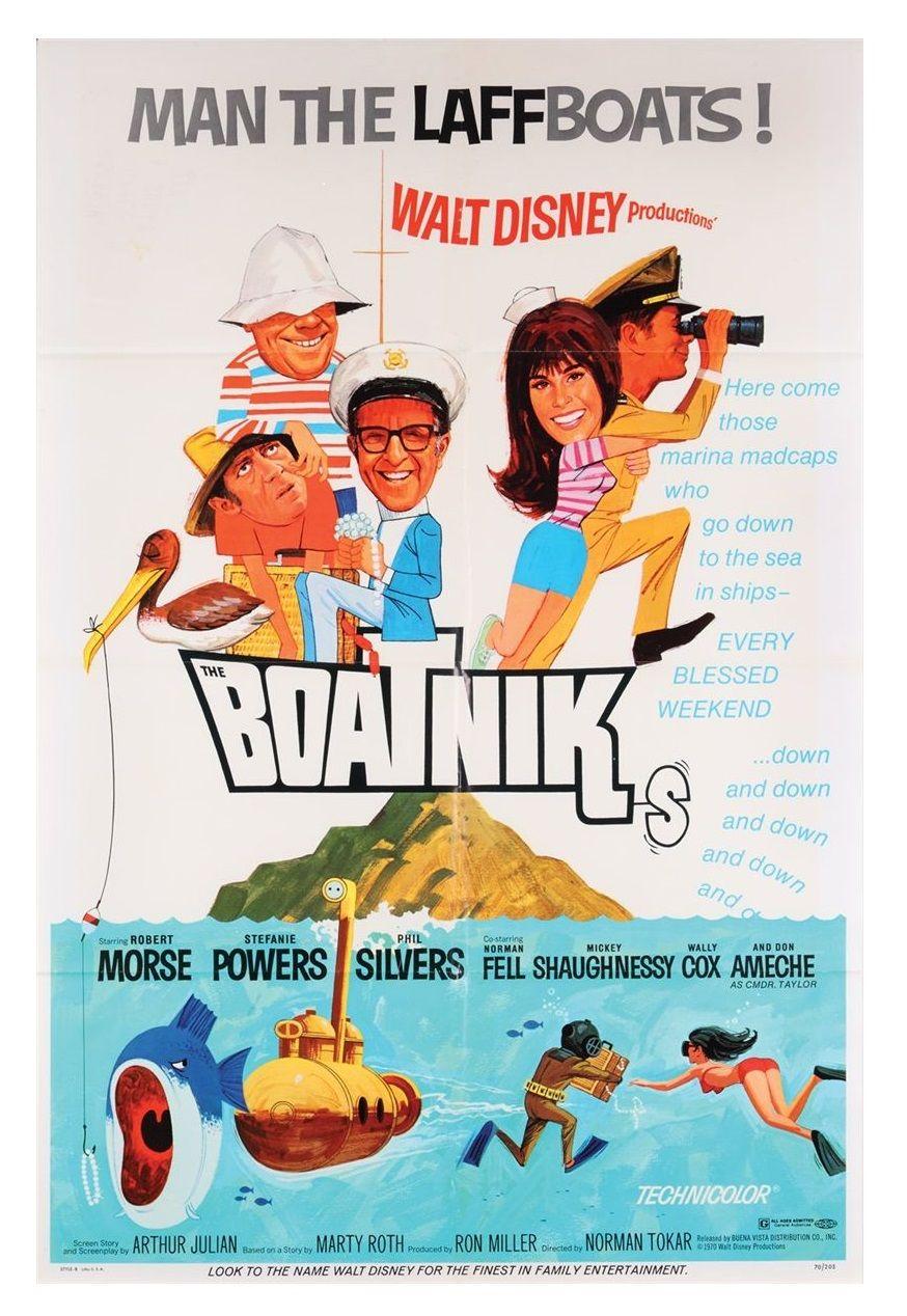 Walt Disney The Boatniks (1970) movie poster Disney