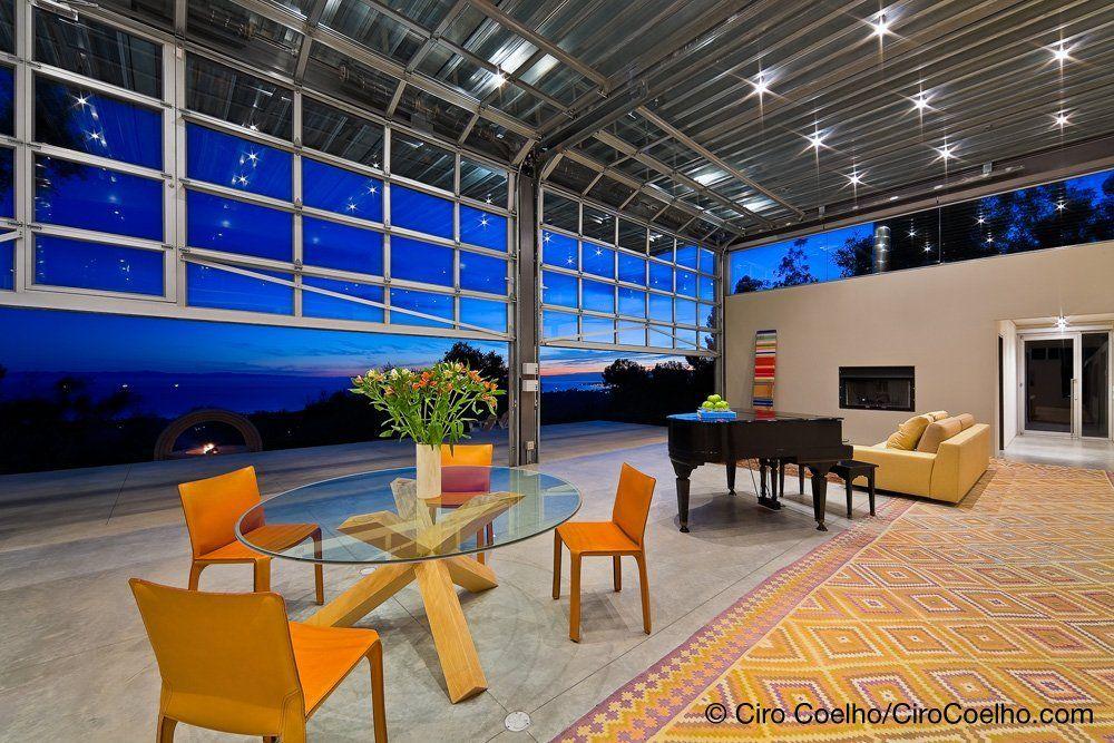 Glass Roll Up Doors Merge Your Indoor Outdoor Space En 2020 Architecture Design Architecture Design