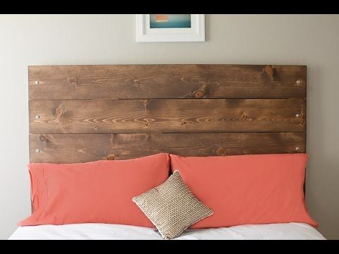 Elegant Reclaimed Wood Headboard | Diy Reclaimed Wood Headboard