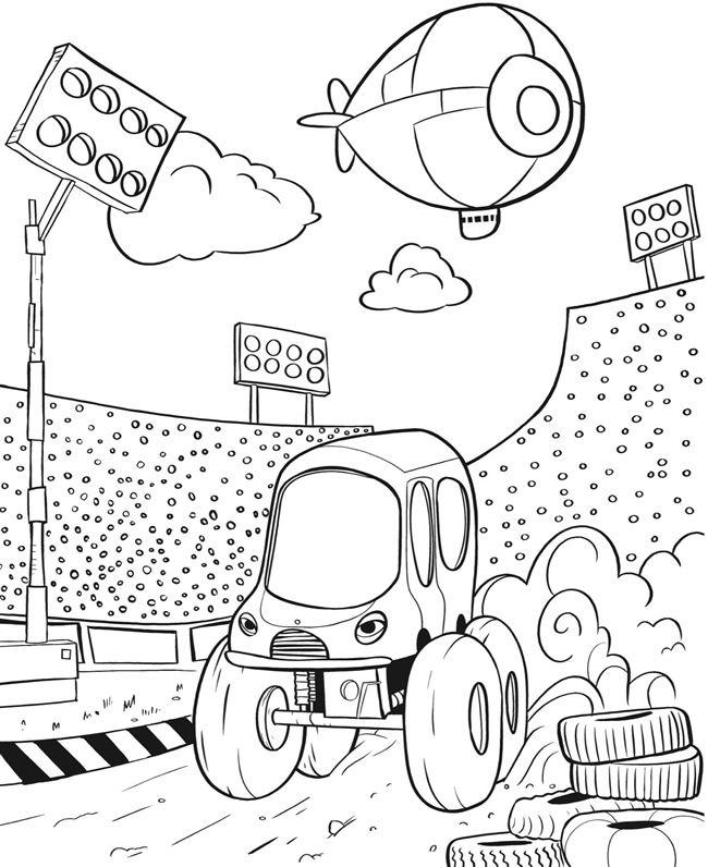 Lovely Monster Truck Coloring Book 98 Monster Trucks Coloring Book