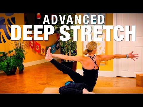 advanced deep stretch yoga class  five parks yoga