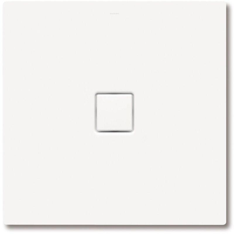 Kaldewei Conoflat 865-2 80x180cm avec support polystyrène, Coloris: Blanc alpin mat avec effet nacré – 468248043711