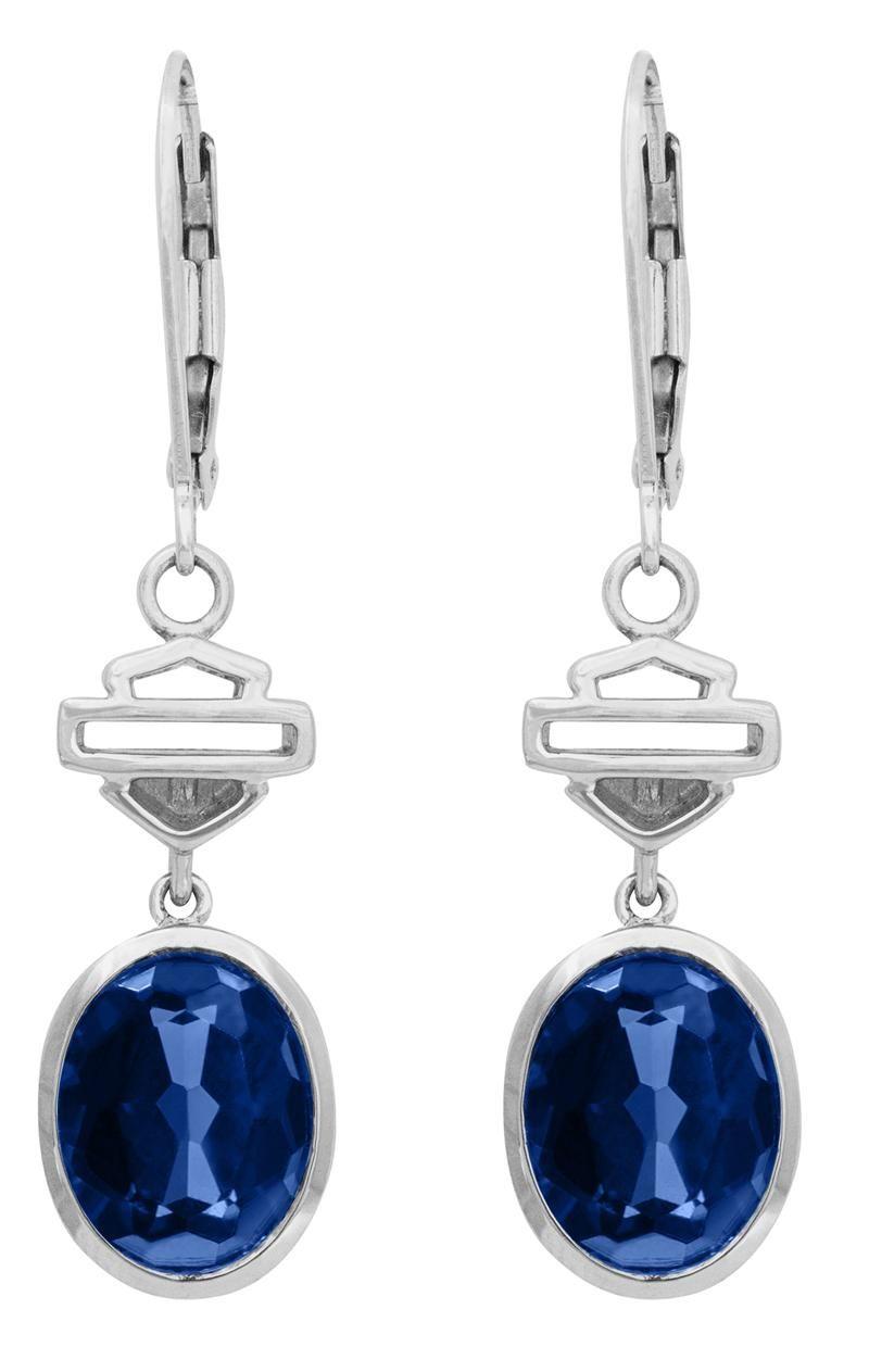 mod jewelry blue oval HarleyDavidson® MOD® Women's HD