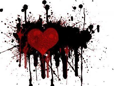 Funxone Com Trash Polka Heart Wallpaper Watercolor Heart