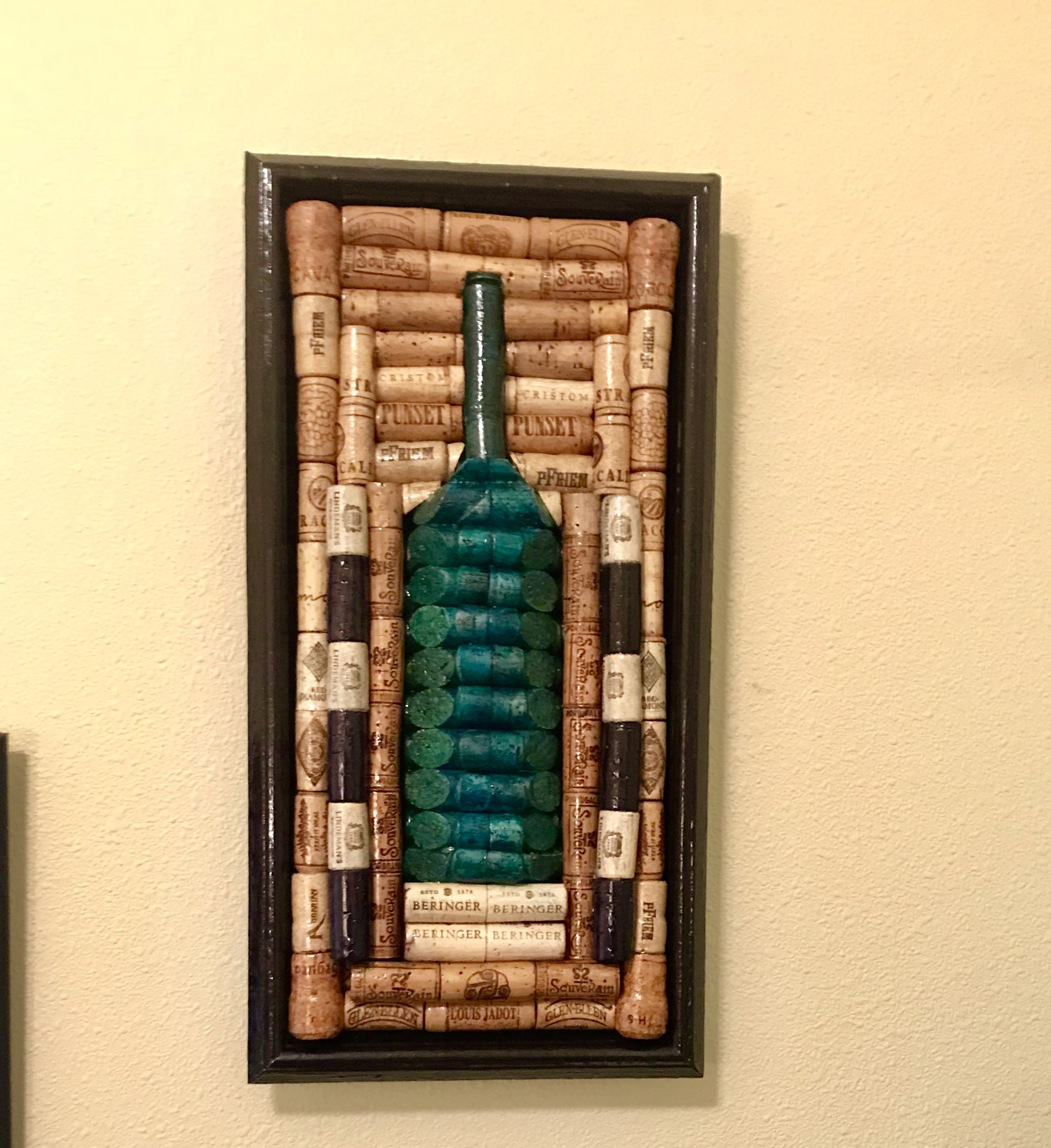 Famous Wine Cork Holder Wall Decor Art Frieze - Art & Wall Decor ...