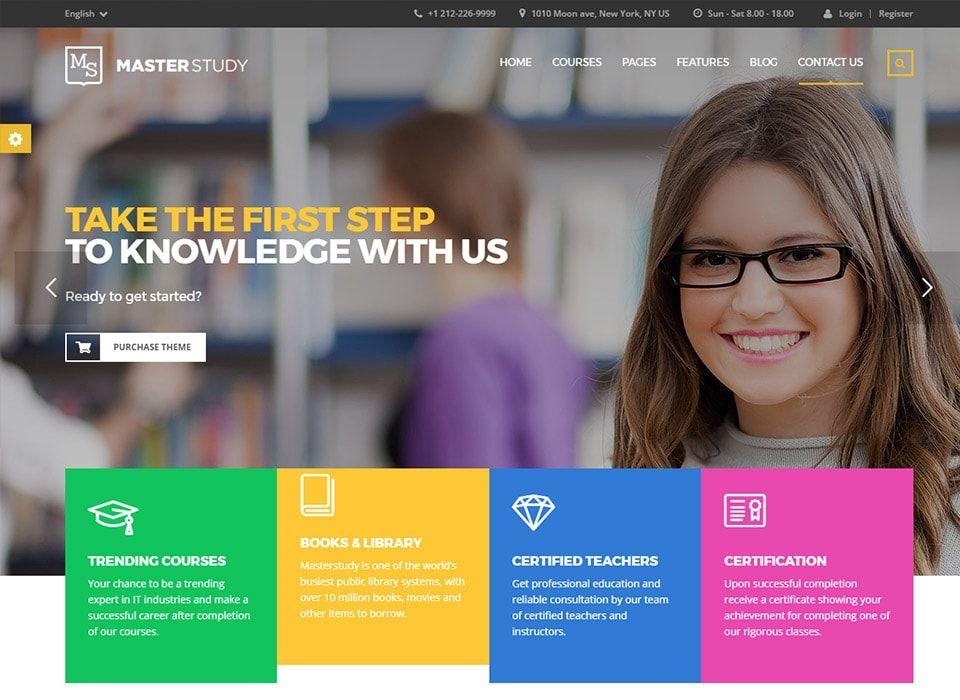 15 Best Education Wordpress Themes For Schools Universities Colleges 2017 Education Wordpress Themes High School Education Education