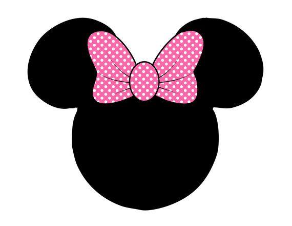 Pink Minnie Mouse Banner Printable Minnie Banner Minnie ...