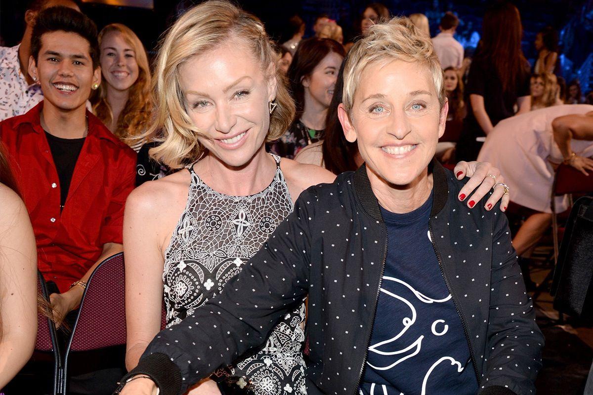 Ellen Degeneres Is Desperately Unhappy And Headed Towards Divorce With Portia De Rossi Exclusive In Touch Weekly Ellen Degeneres And Portia Ellen And Portia Ellen Degeneres