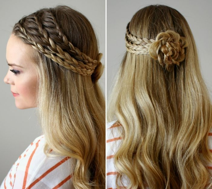 ▷ 1001 + Festive hairstyles for inspiring and re-styling   - hairstyles for long hair -