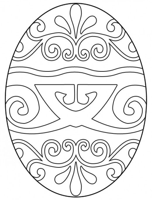 Free Easter Egg Coloring Pages | Coloring, Crafts and Easter ...