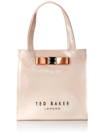 Ted Baker Pale Pink Handbag Available In Four Gorgeous Colors Black Dark Blue Rose Gold And Click Through To See Each Color