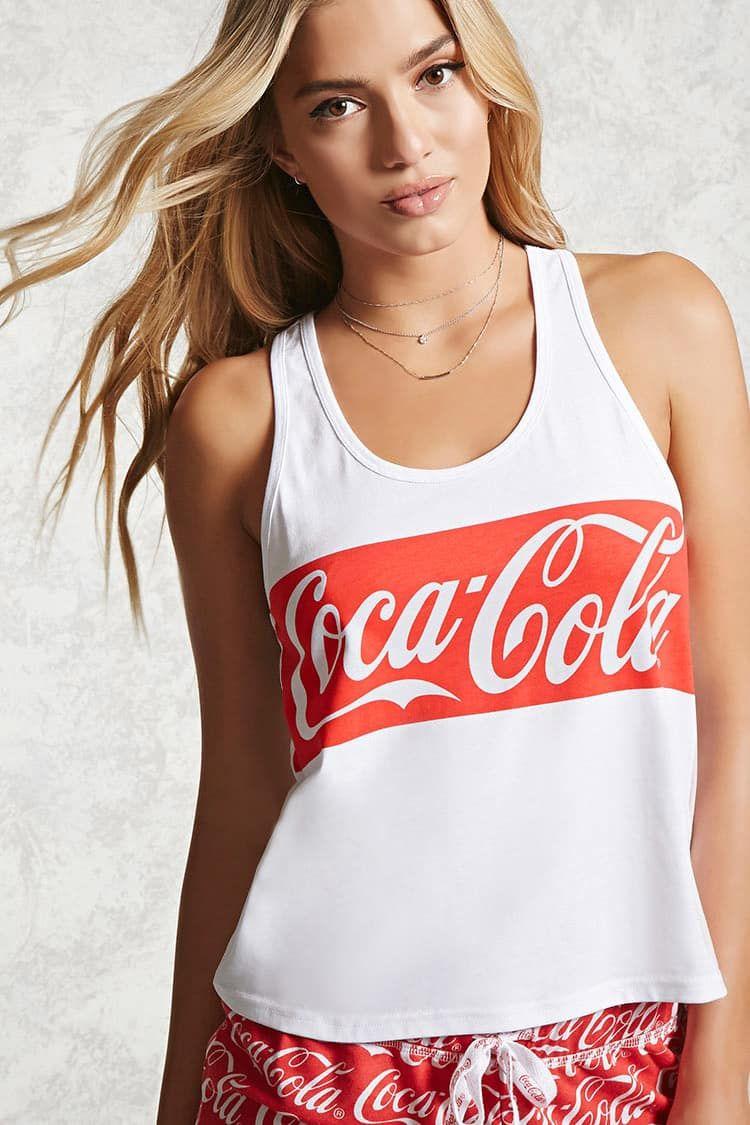 7c83f1511ad1e8 Top De Pijama Coca-Cola