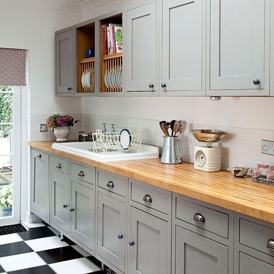 Luxury Grey Shaker Kitchen Cabinets
