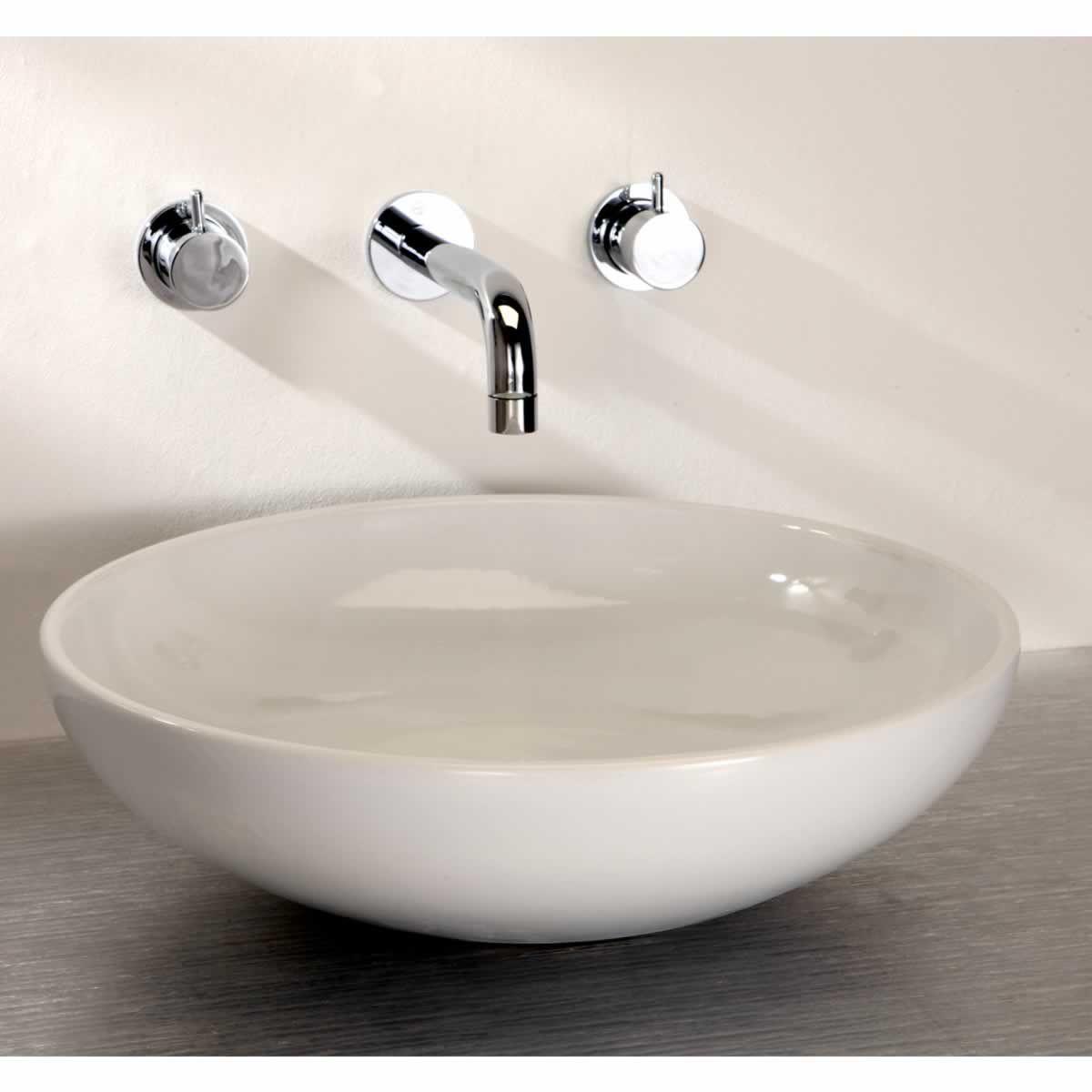 Finwood Designs Thin Tondo Round Bathroom Basin