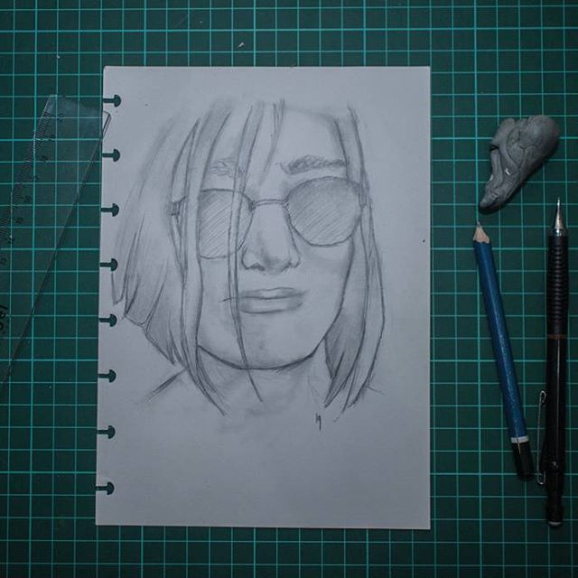 Simple sketch sketching ilustration pencil drawing deviantart