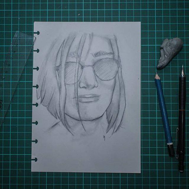 Simple sketch sketching ilustration pencil drawing deviantart