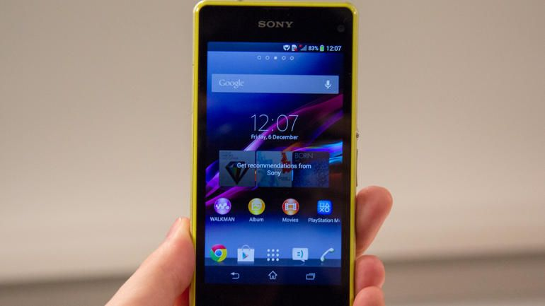 Sony Xperia Z1 Compact Is The Best Mini Android Phone Around Sony Xperia Small Android Phone Android Phone