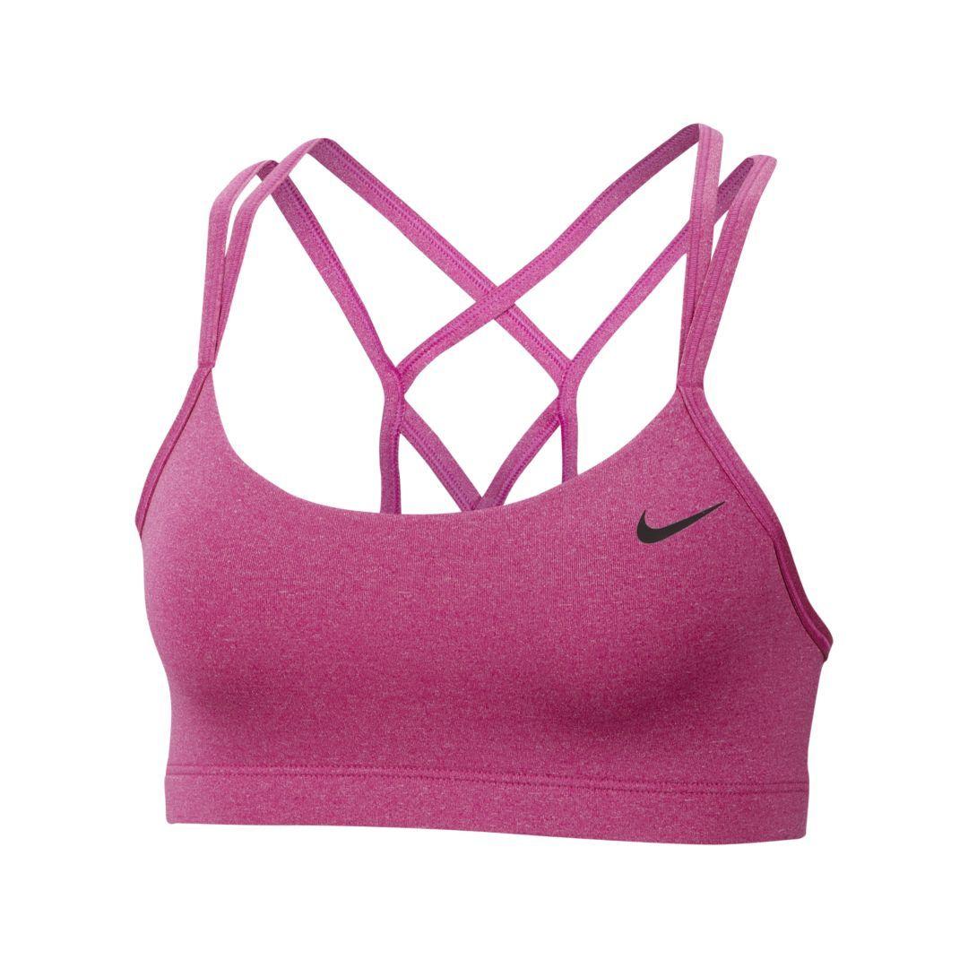 f493b8d8a364b Nike Favorites Strappy Women's Light Support Sports Bra Size XS (Active  Fuchsia)