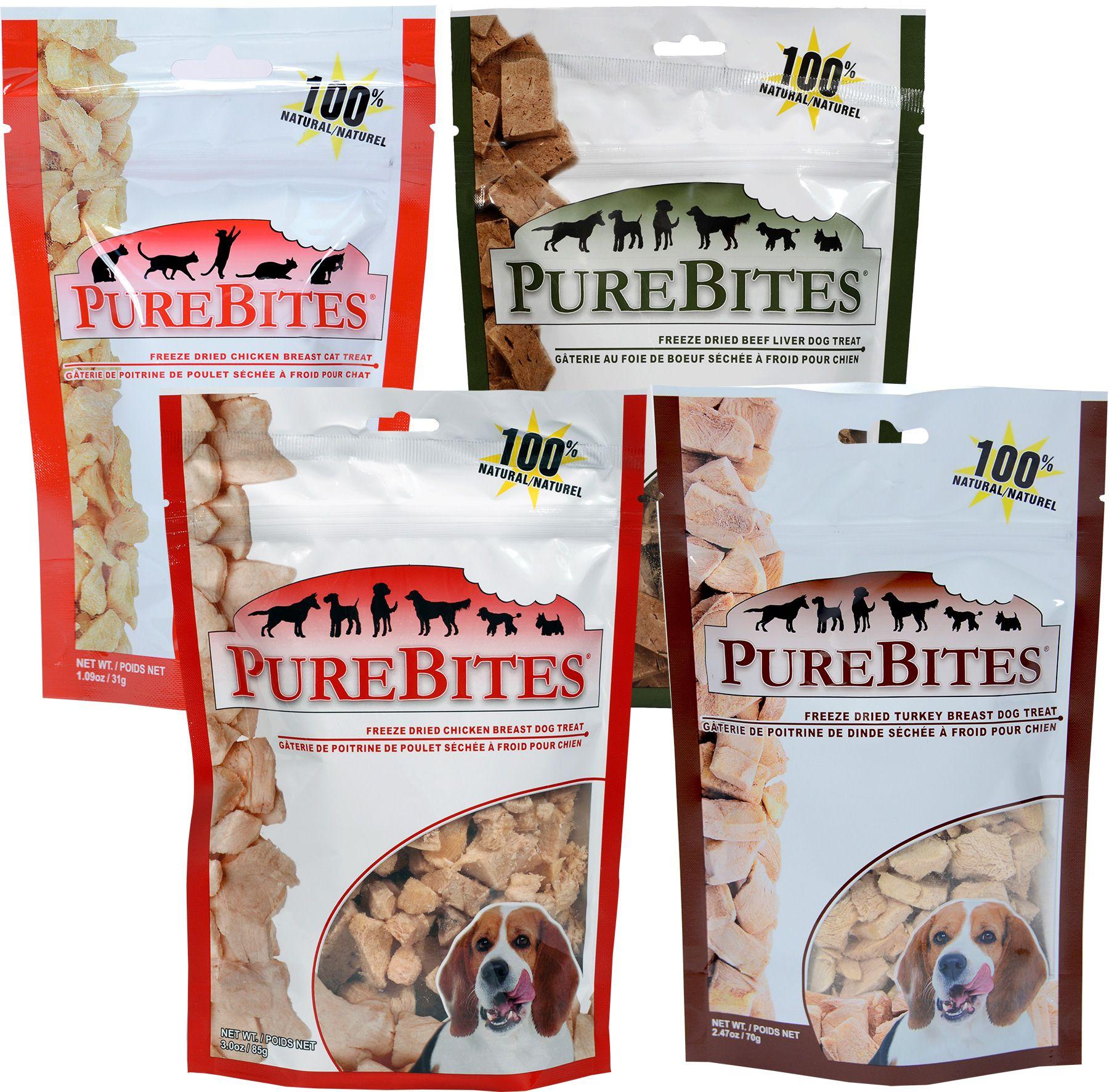 PureBites FreezeDried Dog Treats 1800PetMeds Dog