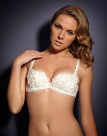 Agent Provocateur - Petronella Bra A white bra that is actually cute ... 7b9bd4b69