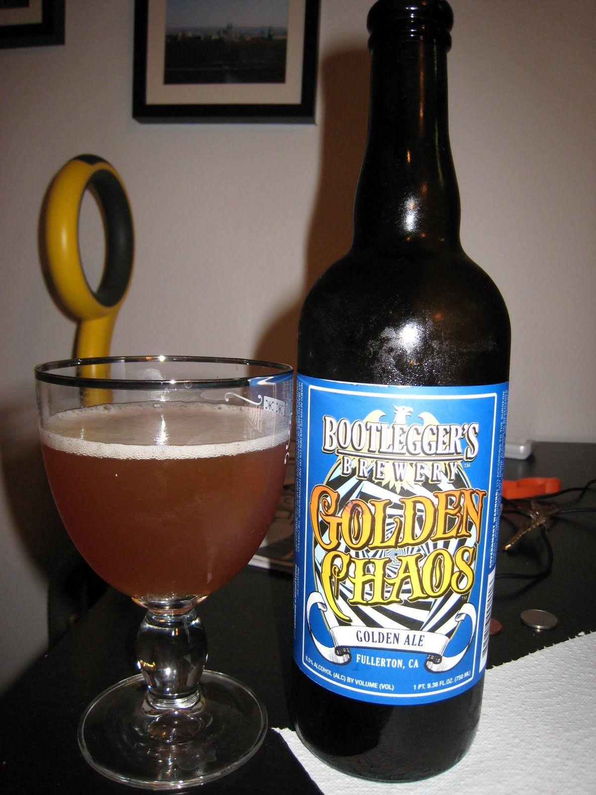 Bootleggers Golden Chaos Summer Ale Beer Beer Drinker Beer Bottle