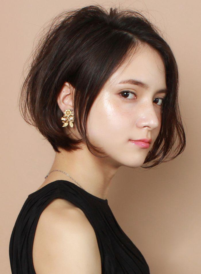☆柔らかいボリューム☆大人の洗練ショート|髪型・ヘアスタイル・ヘアカタログ|ビューティーナビ