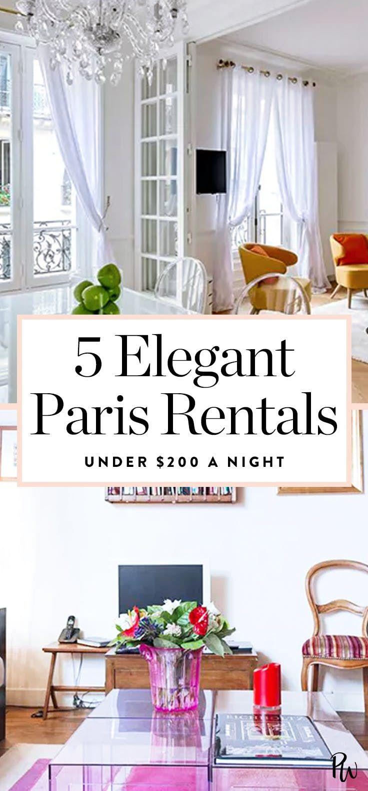 5 Surprisingly Elegant Rentals in Paris for Under $200 a Night ...