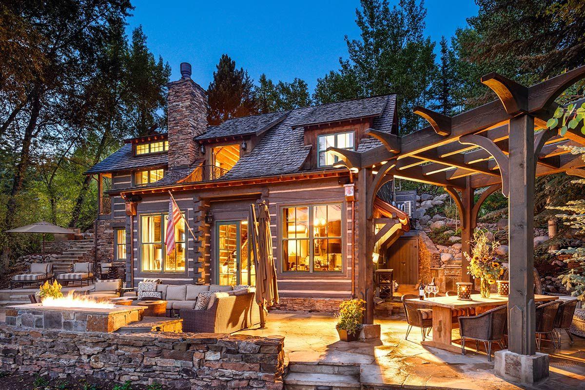 Aspen Log Cabin Colorado Greater Luxury Retreats