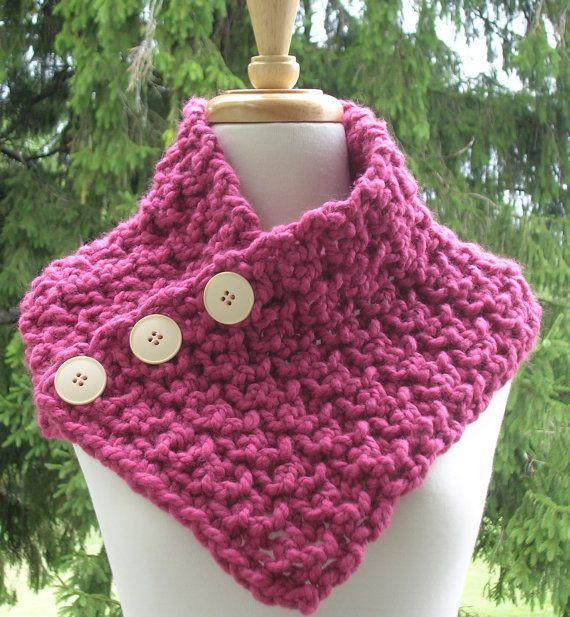 Crochet Cowl Scarf | Tejido | Pinterest | Tejido, Gorros y Lana