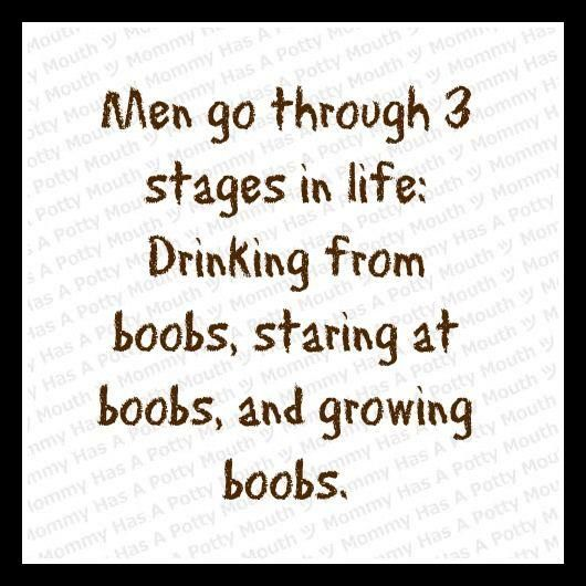 Men's 3 Stages of Life