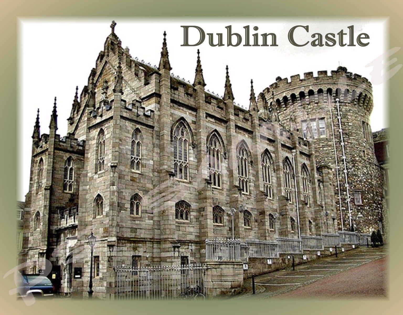 3.25 Ireland Dublin Castle Travel Souvenir Flexible