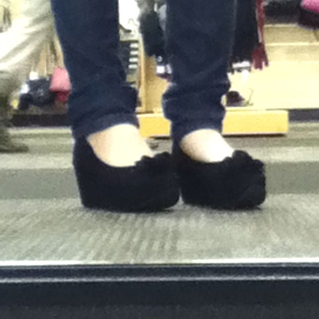 Cutiest shoes ever not to ention luke 100 layers of padding