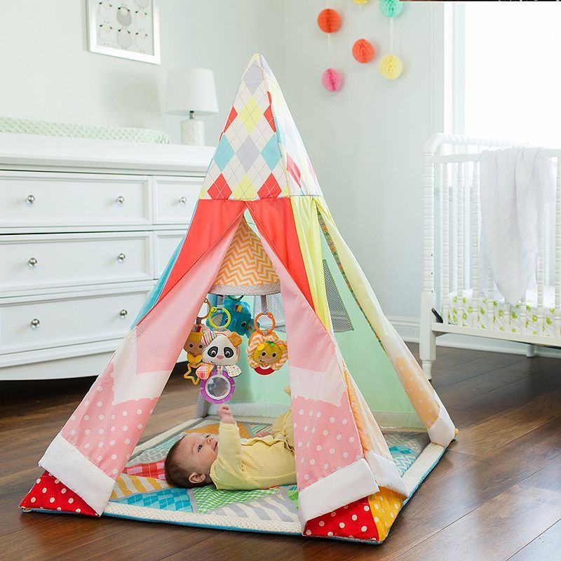 buy popular 96c4a 66c56 Infantino Grow-With-Me Infant Gym Playtime Teepee | Products ...