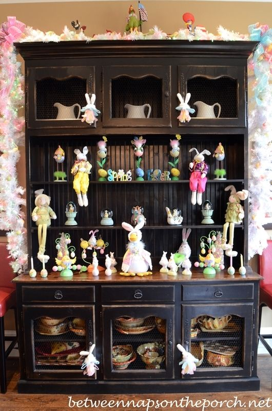 Kitchen Decorated For Easter Decor Easter Kitchen Decor
