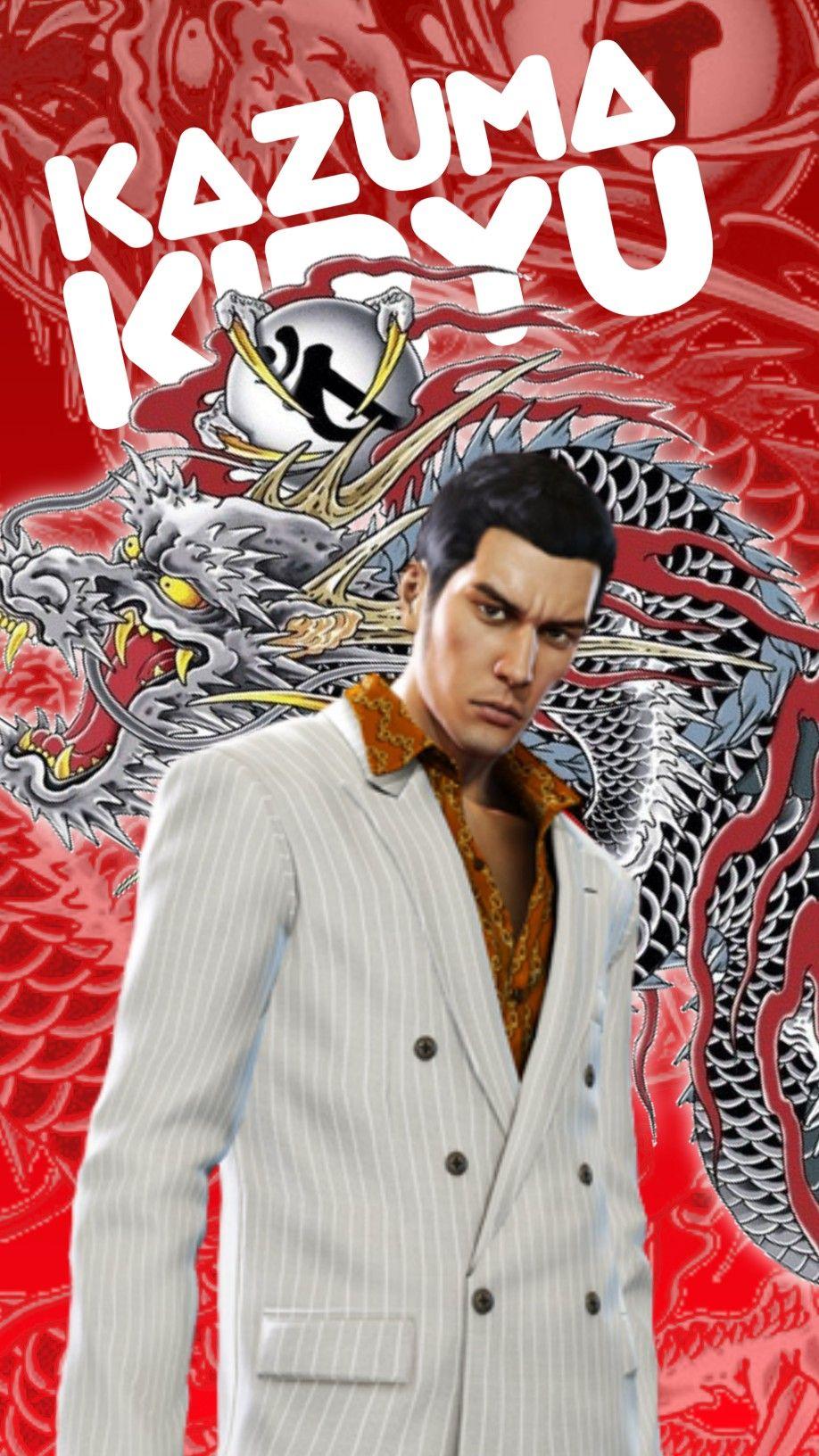 Dragon Of Dojima Kazuma Kiryu Wallpaper