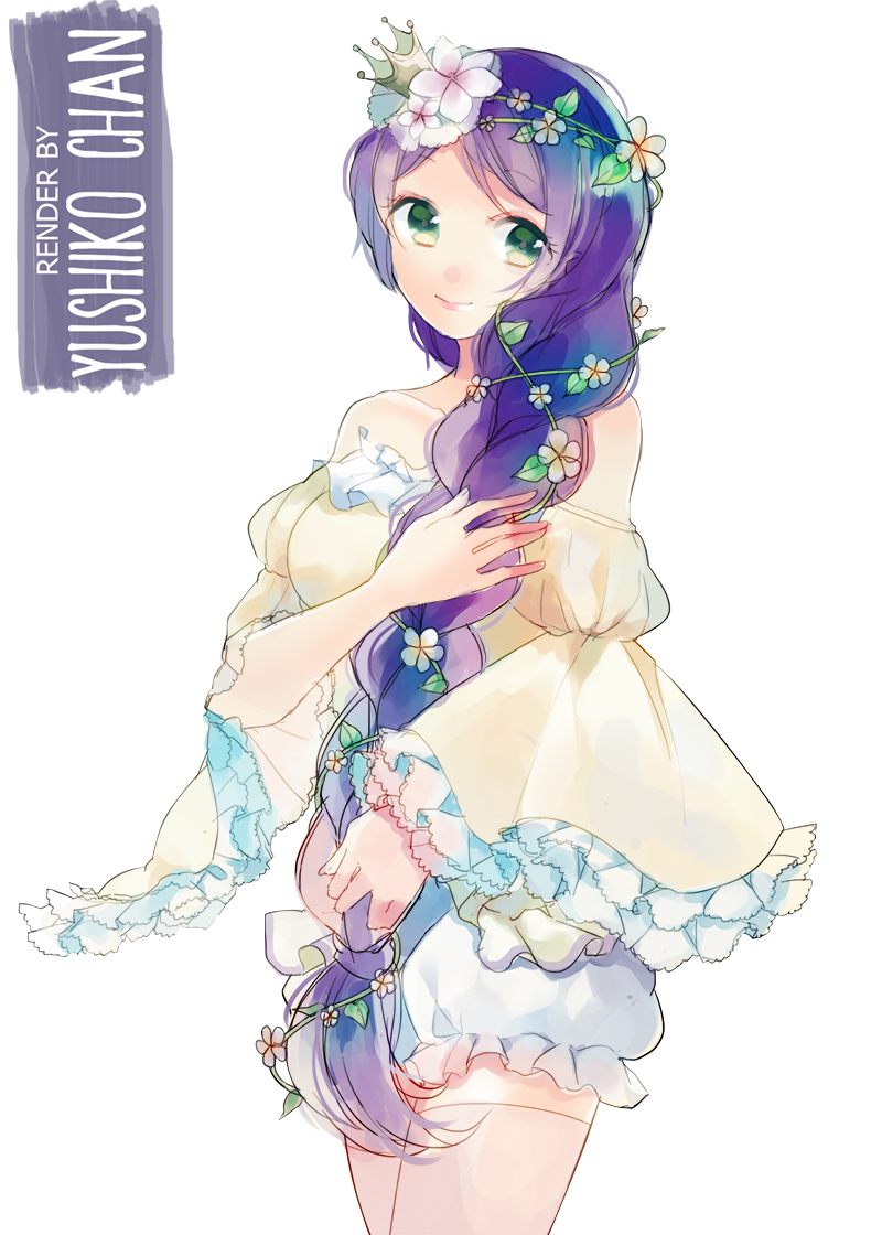 Toujou Nozomi [RENDER] by Yushiko-chan.deviantart.com on @deviantART