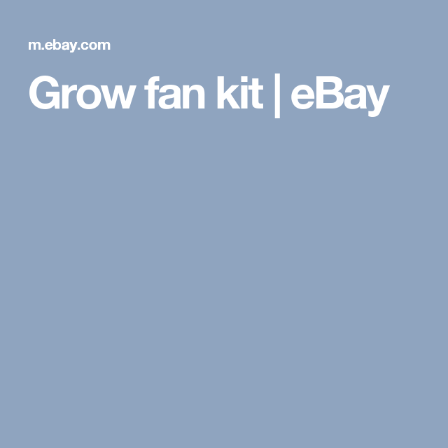 Grow fan kit | eBay  sc 1 st  Pinterest & Grow fan kit | eBay | meri | Pinterest | Grow tent