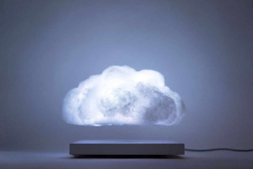 This Floating Cloud Lamp Is A Mini Thunderstorm For Your Coffee Table Cloud Lamp Cloud Lights Clouds