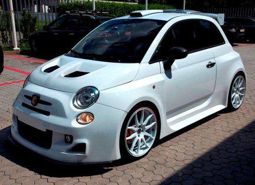 """Abarth 500 """"Gumball Version"""" da 300 CV by Romeo Ferraris"""