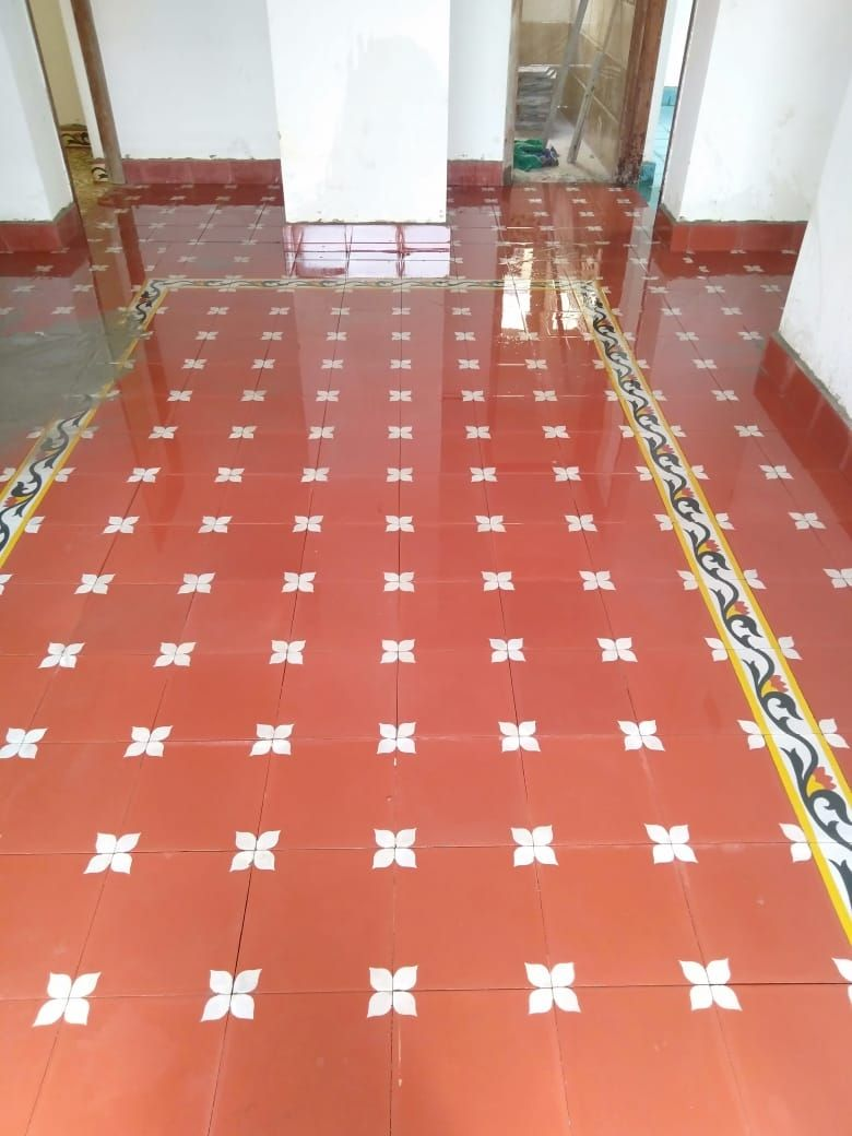 Our Athangudi Handmade Chettinad Tiles Projects Lakshmiitiles In In 2020 Smart Home Design Indian Home Design Tile Projects
