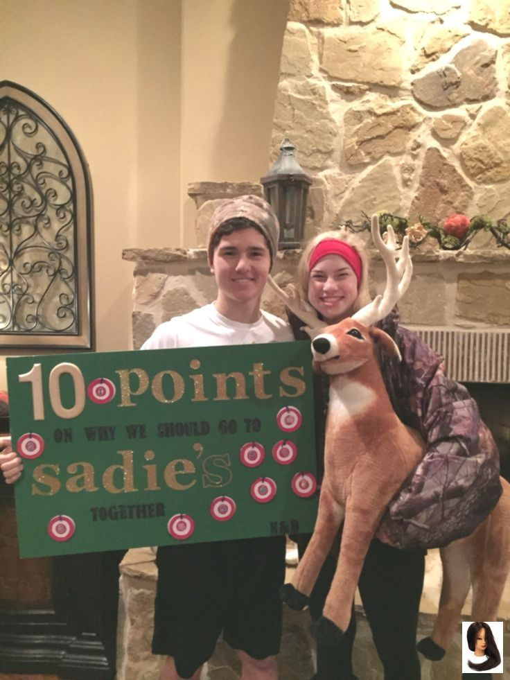 #dance #Hawkins #Hoco Proposals Ideas hunting #Hunting #ideas #Sadie #hocoproposals
