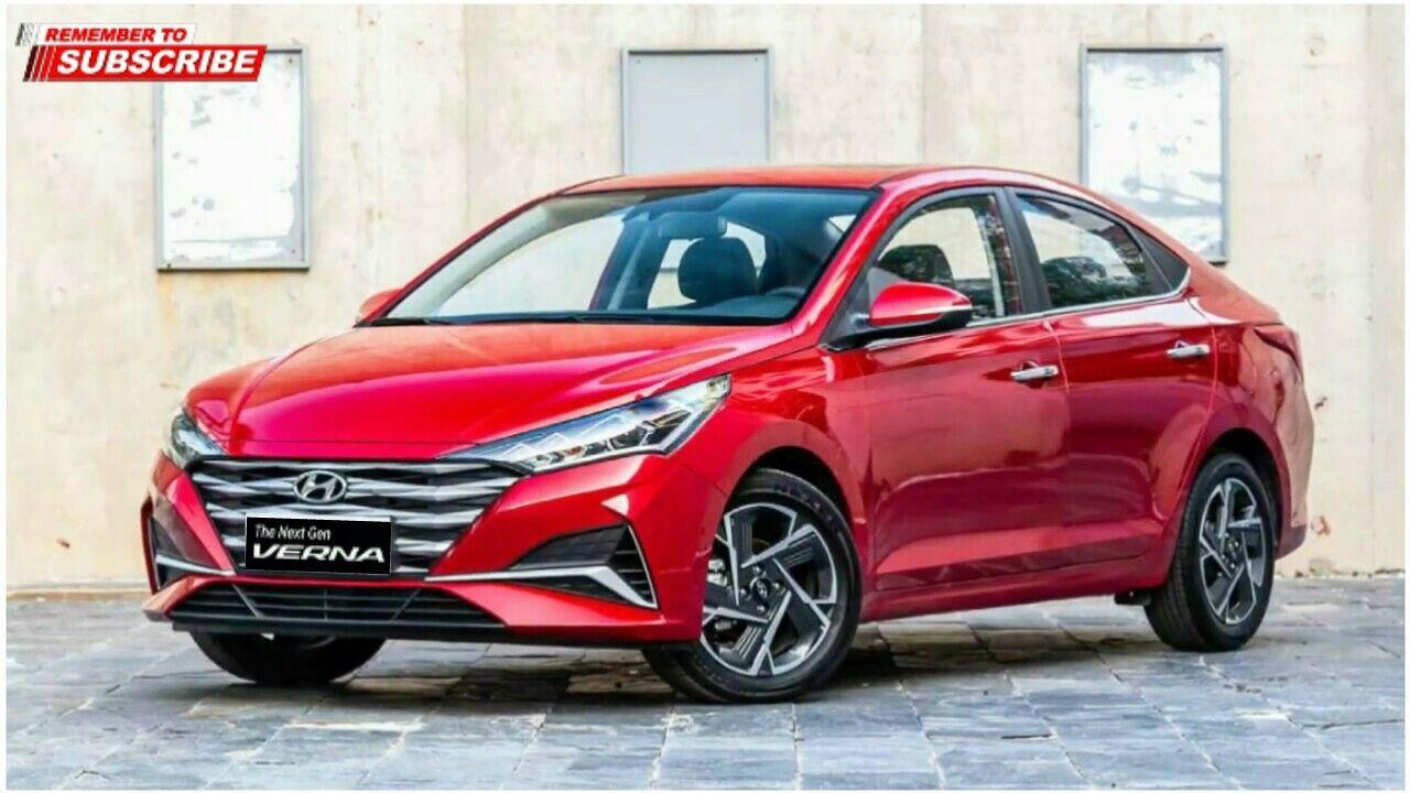 2020 Hyundai Verna Facelift All New Hyundai Verna Hyundai New Hyundai Sedan