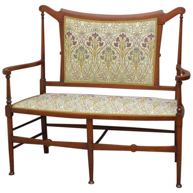 Best Stylish Art Nouveau Mahogany Settee Sofa Art Deco Sofa Unique Sofas Best Sofa 400 x 300