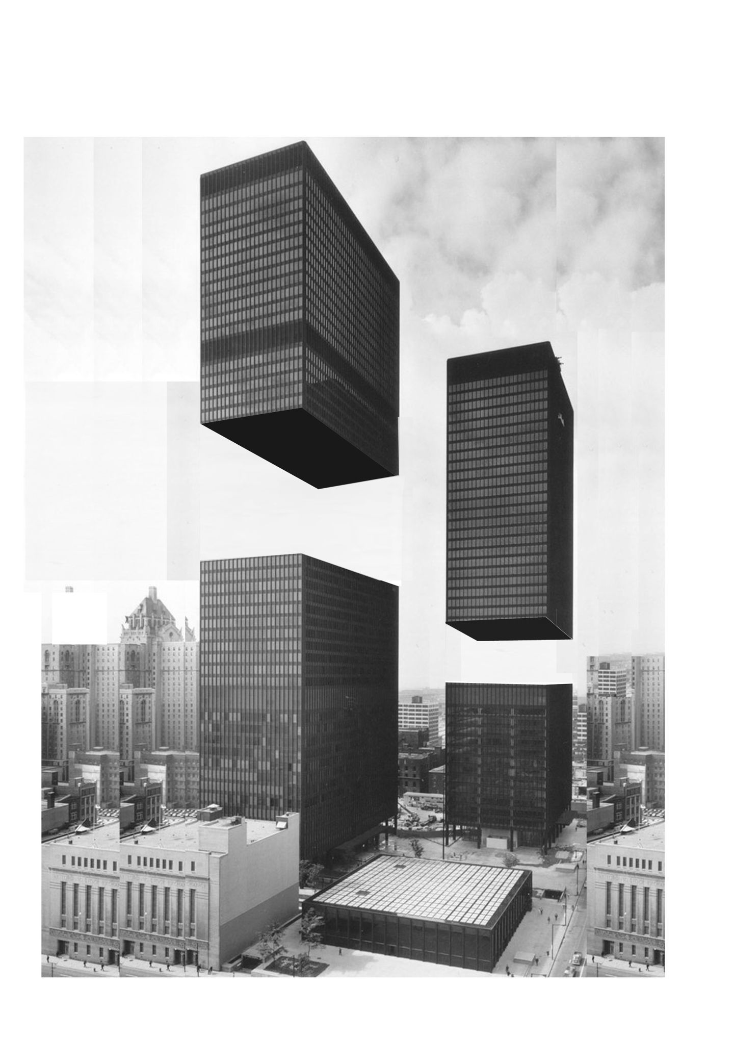 Modern Architecture Drawing luca galofaro · cut · divisare. is there any more modern than this