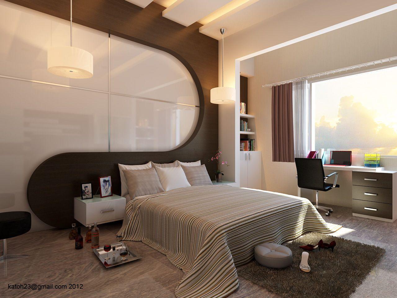 Cozyconceptforluxuriousbedroomstylejazzycaalargejpg - 3d view of bedroom design