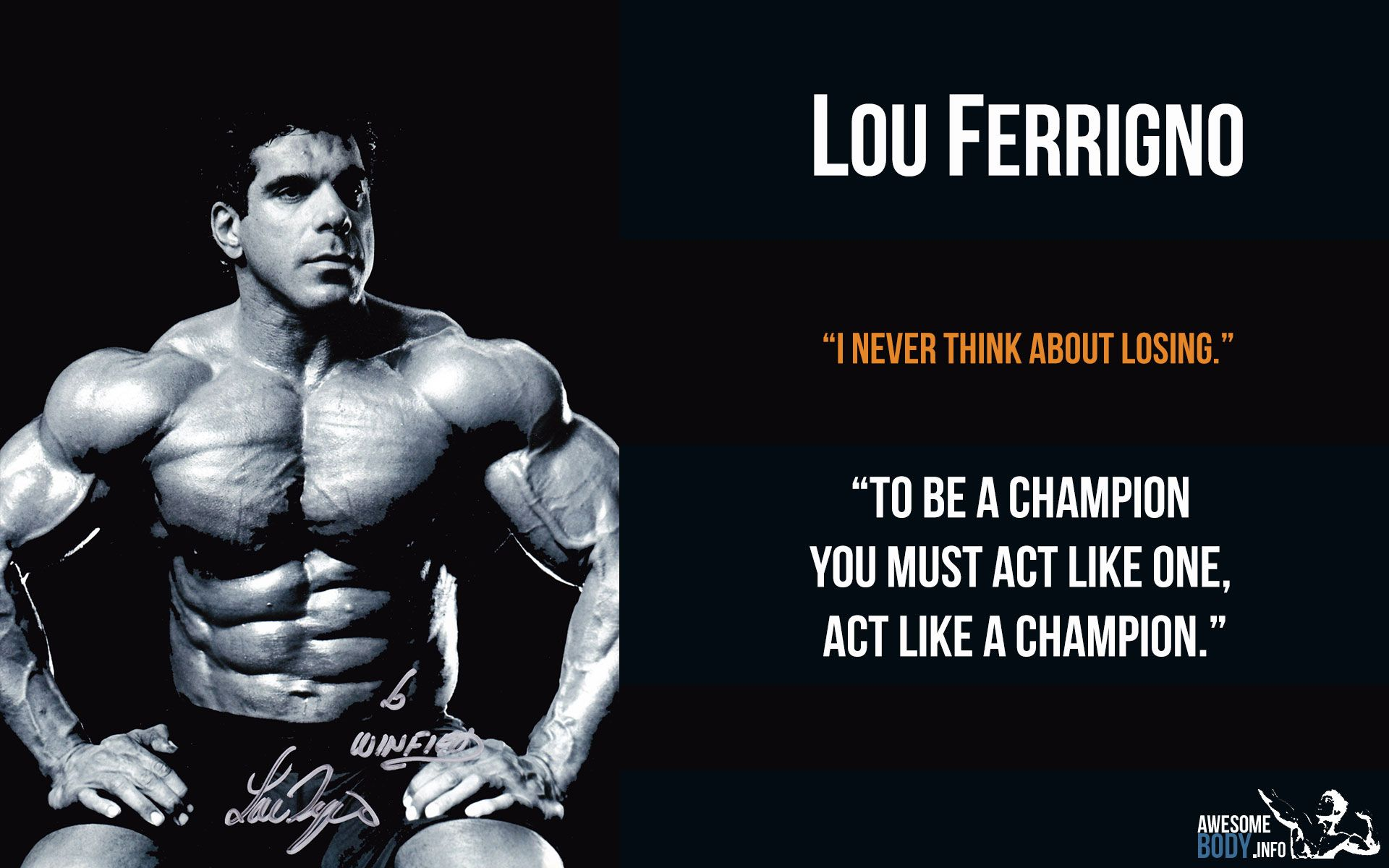 Perfect Lou Ferrigno HD Poster | Bodybuilding Pictures | Awesome Wallpapers