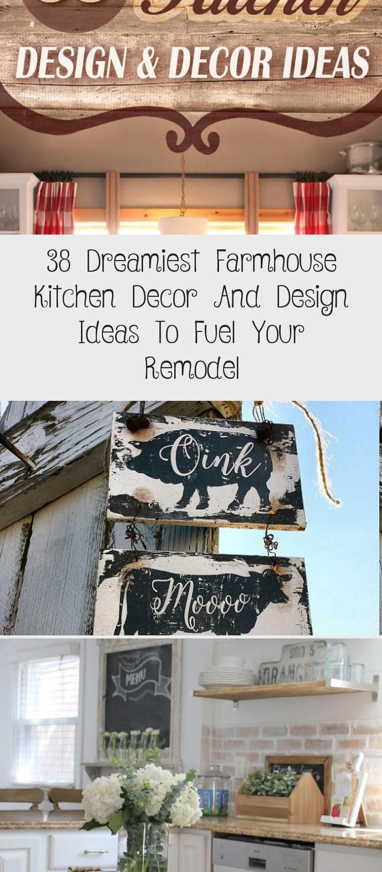 Photo of 38 Dreamiest Farmhouse Kitchen Decor And Design Ideas To Fuel Your Remodel – CUISINE